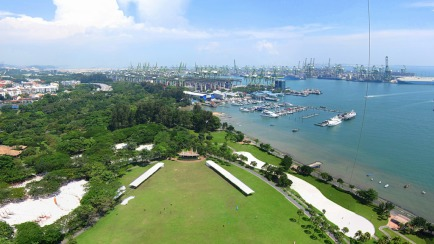 Singapore's West Coast Park, an example of managed parkland